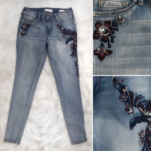 Jessica Simpson Kiss Me Super Skinny Jeans EUC